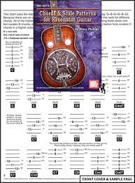 Dobro Chord Chart Image Detail For Sheet Music Chords Scale Patterns