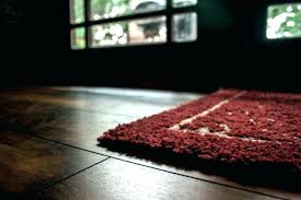 natural rubber rug pad rugs on hardwood floors home depot for