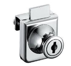 2pcs cabinet display case showcase single glass door lock display cabinet locks
