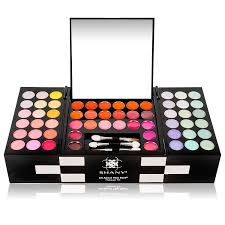 amazon shany all about that face makeup kit all in one makeup kit eye shadows lip colors more beauty