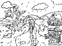 Small Picture Heavy Rain Coloring Page Bebo Pandco