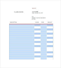 Freelance Design Invoice Template Freelance Design Invoice Template ...