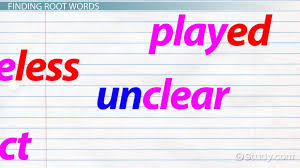 Root Words: Lesson for Kids - Video & Lesson Transcript | Study.com