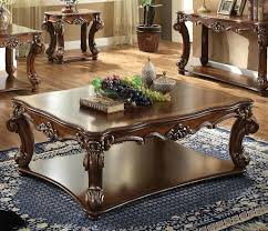 acme coffee table 83000 vendome traditional gold patina furniture xanti versailles