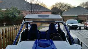 Yamaha Yxz Light Bar Light Bar On Factory Top Page 2 Yamaha Yxz Forums