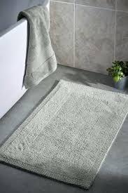 reversible cotton contour bath rug mat from next reversible bath