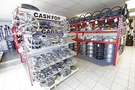 used auto parts warehouse