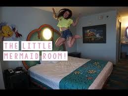 The Little Mermaid Room! | Disneyu0027s Art Of Animation Resort | Surprise!