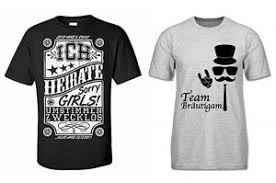 Junggesellenabschied T Shirts Männer Die Besten Motive Sprüche