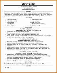 Uber Driver Resume Resume For Truck Driver Uber Driver Job Description Resume Best 15