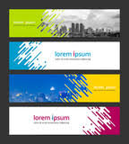 Banner Design Template Abstract Background Corporate Business Web