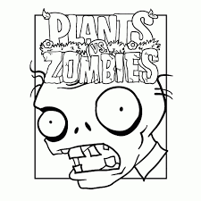 Plants Vs Zombies Garden Warfare Coloring Pages 123 Free With