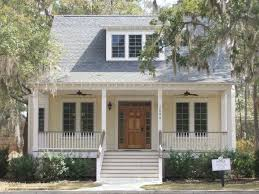 ideas about Small Farmhouse Plans on Pinterest   Farmhouse    Small white cottage house   large porch and generous front steps