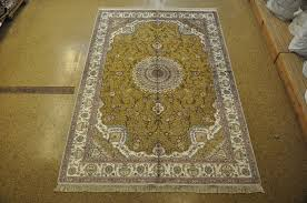 image is loading silk carved isfahan great investment hand knotted rug