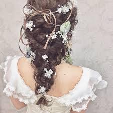ウエディングドレスにピッタリな髪型はコレ一生の思い出作り Trill