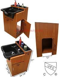 salon shampoo cabinets. Delighful Shampoo CC132503B Shampoo Cabinet With Bowl With Salon Cabinets O