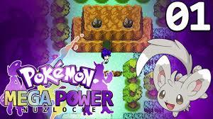 Pokemon Mega Power Nuzlocke! (Rom Hack) Walkthrough #01