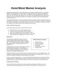industry analysis template business plan templates sample hotel business plan real estate