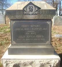 Julia Sophia Parks Bryant (1846-1906) - Find A Grave Memorial