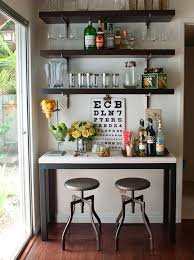 12 ways to store display your home bar attractive home bar decor 1