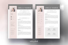 Resume Cv Template Amelia
