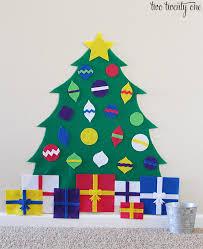 Printable Christmas Tree Felt Christmas Tree Free Patterns