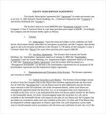 Sales Contract Template Beauteous Small Business Equity Sale Contract Template Vilanovaformulateam