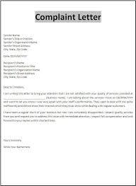 Free Printable Sample Customer Complaint Response Letter Serves As A