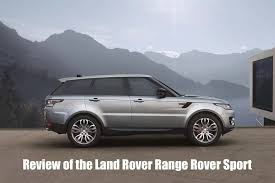 Coupe Series bmw x5 vs range rover sport : Land Rover Range Rover Sport SUV Review | OSV
