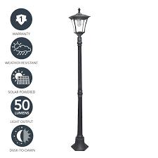 Ideaworks Round Solar Lights Solar Powered Lamp Post Lights Pogot Bietthunghiduong Co