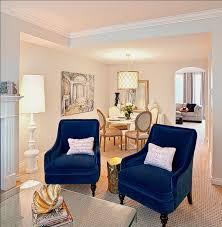 42 Chic Velvet Interiors To Make You Feel Like A King | Blue velvet chairs,  Blue velvet and Living rooms