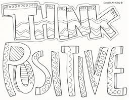 Small Picture Attitude Coloring Pages Religious Doodles