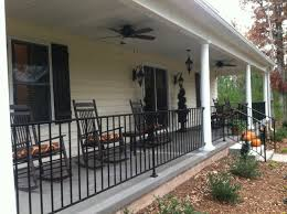Wrought Iron Handrails A Makeover Wrought Iron Railings Iron Railings And Front Porches