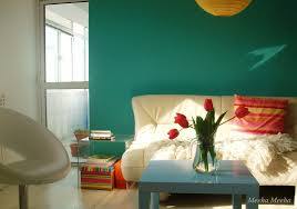 Turquoise Color Scheme Living Room Romantic Turquoise Living Room Ideas With White Vinyl Couch And