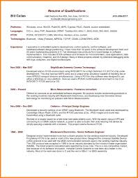 Resume Summary Project Manager Resume Summary TGAM COVER LETTER 77