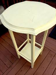 diy how to refinish a side table with chalk paint chalkpaint diy