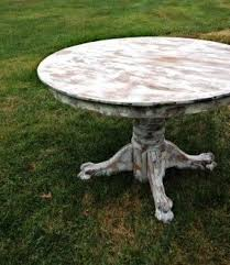 antique white wash dining set. round whitewashed tables: antique oak pedestal tables with a gorgeous white wash dining set t