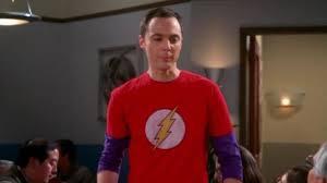 flash sheldon cooper jim parsons