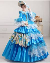 Elegant Free PP Renaissance Victorian Ball Fancy Dress Medieval Costume For Women  Party Cosplay Queen Victorian Dress Costume 3XL Plus