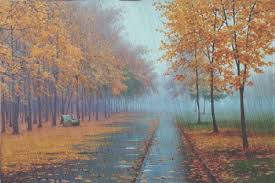 autumn rain is just beautiful