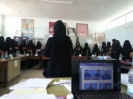 zero project al saeeda association yemen in haifan taiz a deaf trainer teaches some 30 women hearing impairments how