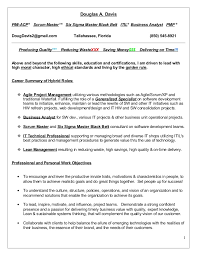 douglas a davis pmi acp scrum master six sigma master black belt scrum master resume
