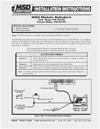 wiring diagram for msd 2 step wiring diagram technic msd two step wiring diagram admirable msd digital 7531 wiring