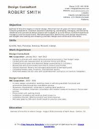 Product Consultant Resumes Design Consultant Resume Samples Qwikresume