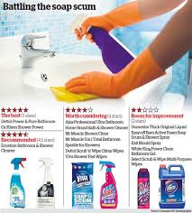 revealed the best bathroom cleaning s otago daily times news