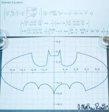 batman equation in text form