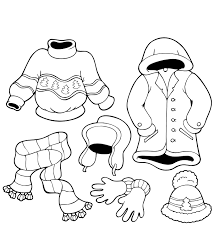 Small Picture All clothes outside Winter Coloring Pages coloring pages for