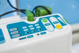 Medical Monitoring Closeup Detail Of Hi Tech Technology Electronic Medical Monitoring