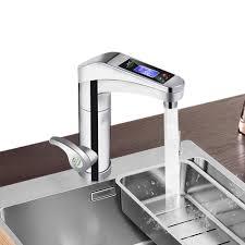 500 Công Suất Lớn 3500W Cảm Ứng Máy Nước Nóng Xoay Được Nước Vòi Liền Vòi Nước  Nóng Và Lạnh phòng Tắm Nhà Bếp|Kitchen Faucets