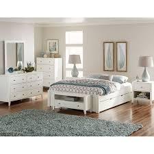 pulse white queen platform bed with trundle ne kids queen kids